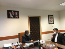 Follow-up of health problems in a meeting between Dr. Karimi, Chairman of the Provincial Assembly, and the Deputy Minister of Health